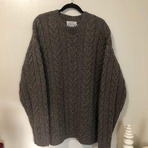 Jeffrey Banks Hand Made Shetland Wool Sweater